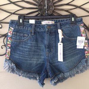 NWT Altar'd State denim shorts